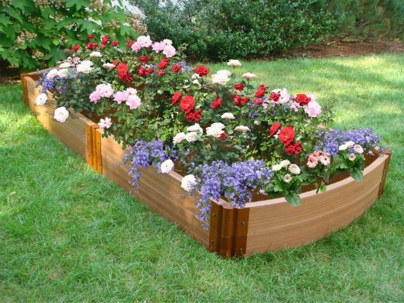 container to plant the flowers.