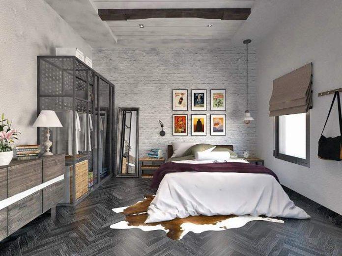 15 Industrial Designs for Fantastic Bedroom 12