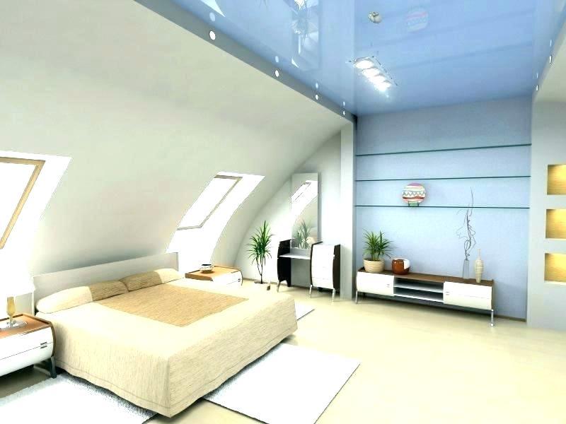 luxurious attic bedroom.