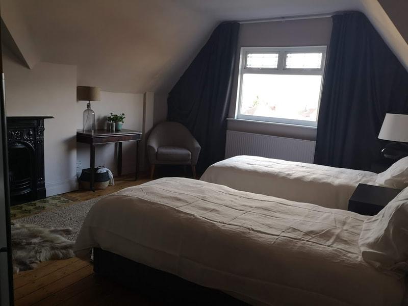 simple design for attic bedroom.