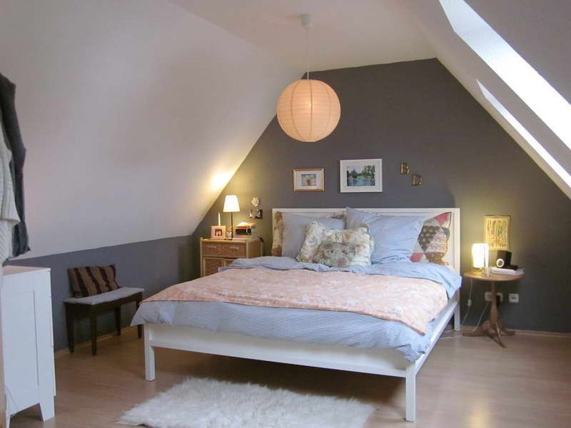 Use the lamp for lighting the attic bedroom.