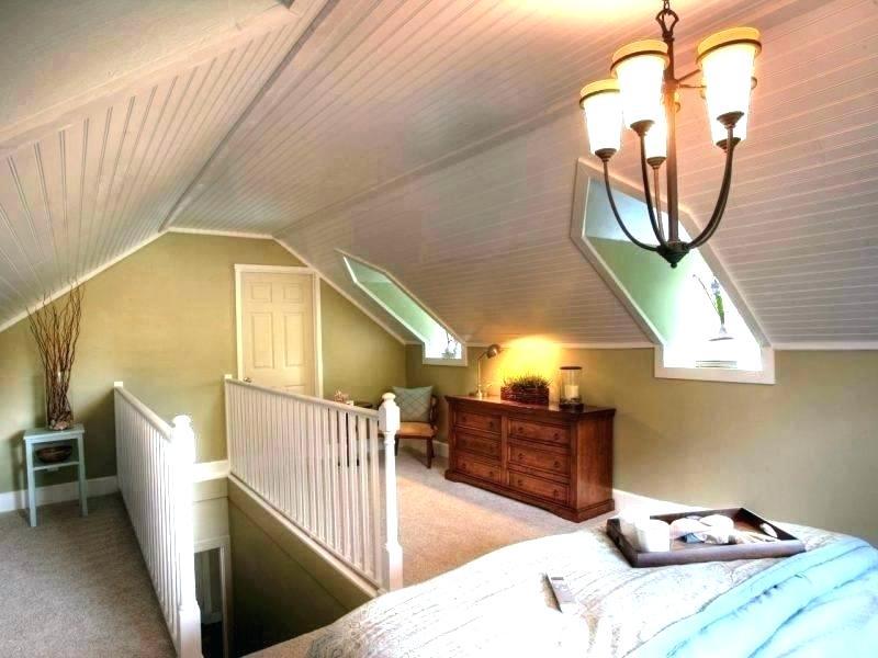 great design for attic bedroom.