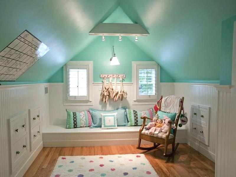 attic bedroom for kids.