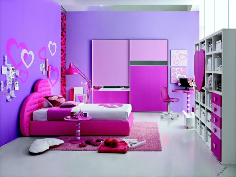 purple is the best color for the room.