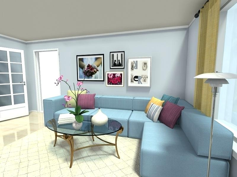 pastel color for the room.