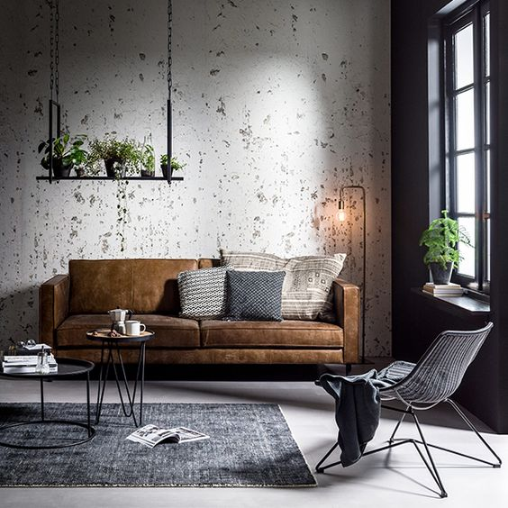 concrete-wall for industrial design.