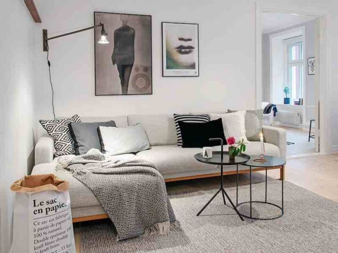 Scandinavian Style for Minimalist Living Room Ideas
