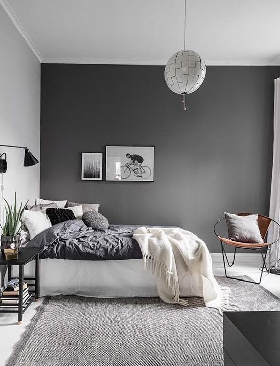 black and white for Scandinavian style.