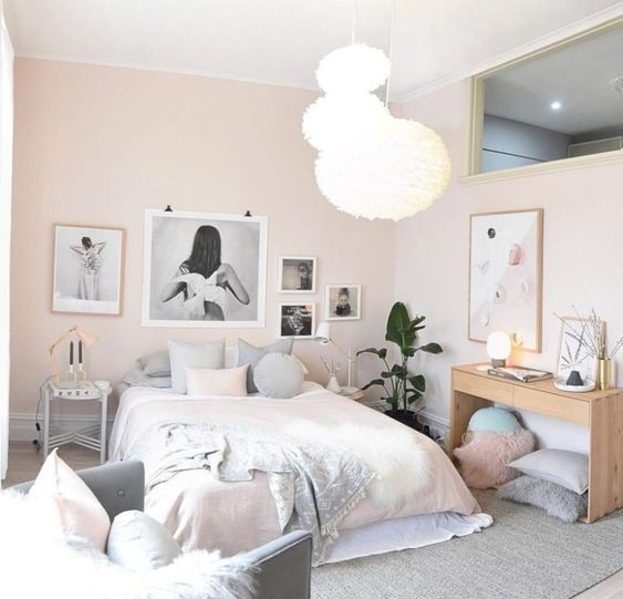 pastel color for scandinavian style.