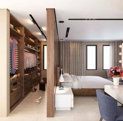 bedroom wardrobe with modern concept