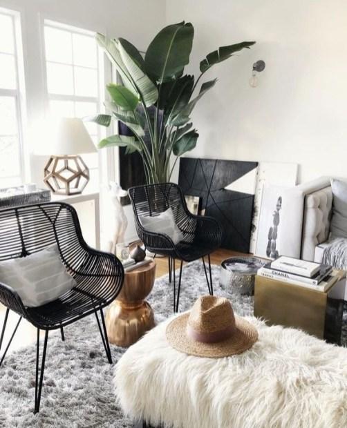 contemporary living room on budget