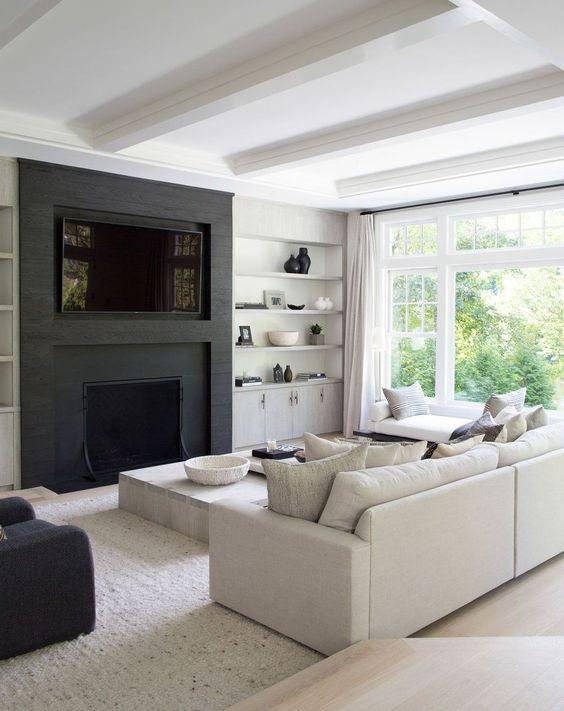 easy diy contemporary living room