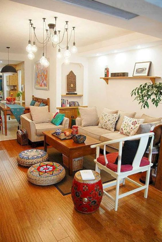 indian style living room