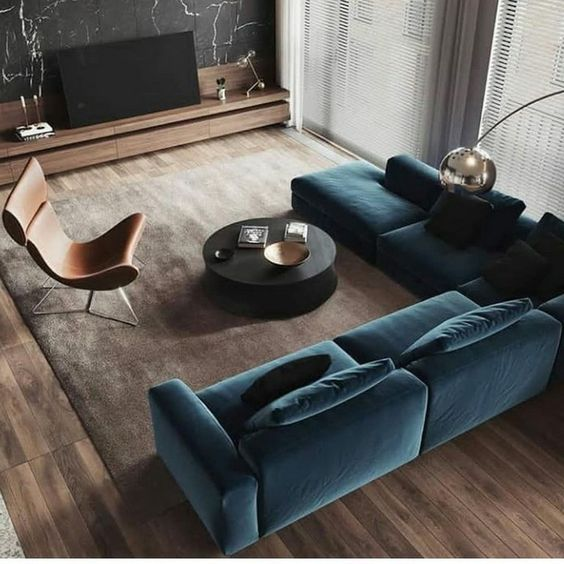 low cost contemporary living room