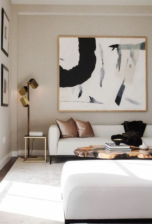 luxury contemporary living room on budget