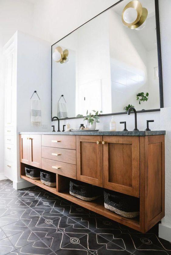 scandinavian style bathroom vanities