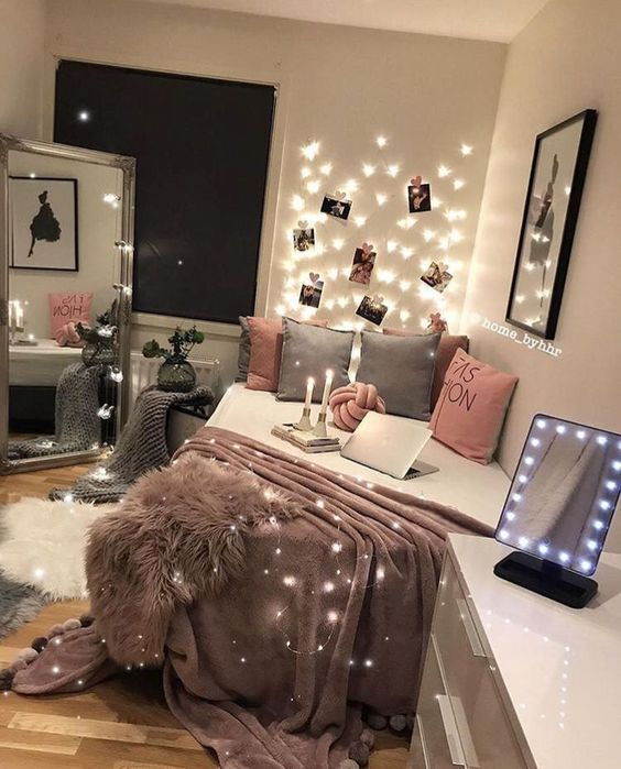 simple small girl bedroom
