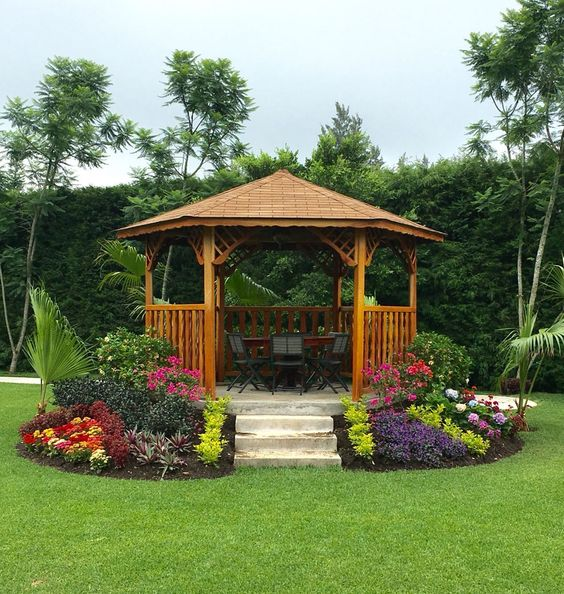 wooden gazebo ideas