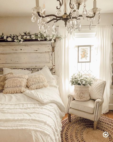 beautiful country bedroom decoration