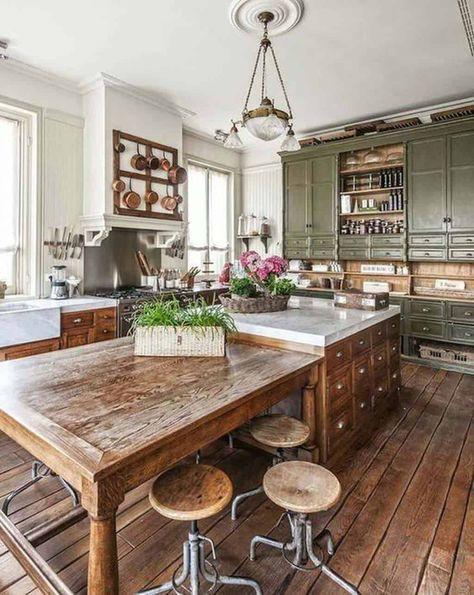 classic rustic kitchen ideas