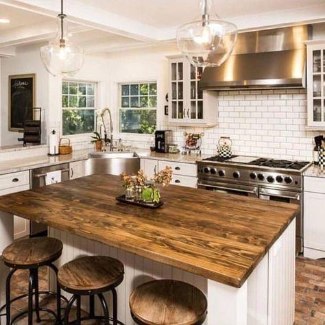 classy rustic kitchen