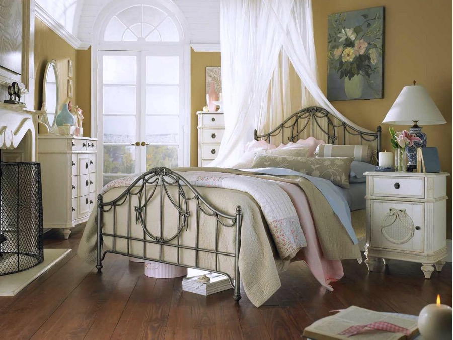 country bedroom decoration