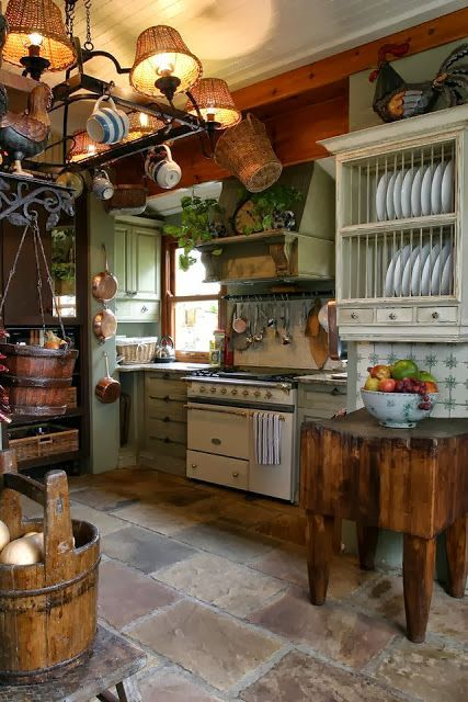 country rustic kitchen