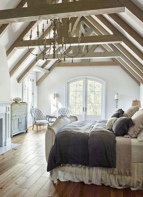 generous country bedroom