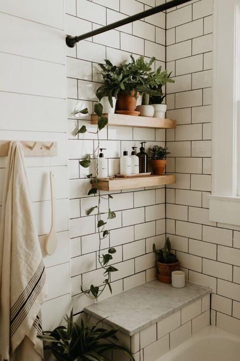 inspiring bohemian bathroom