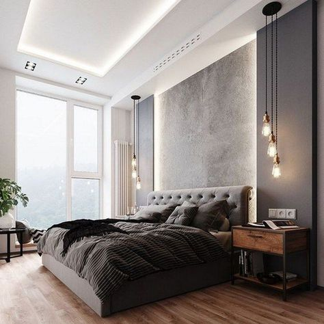 luxury contemporary bedroom