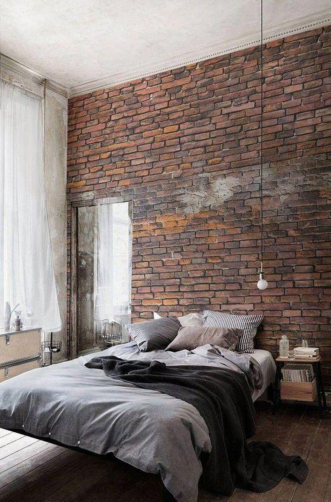 magnificent industrial bedroom