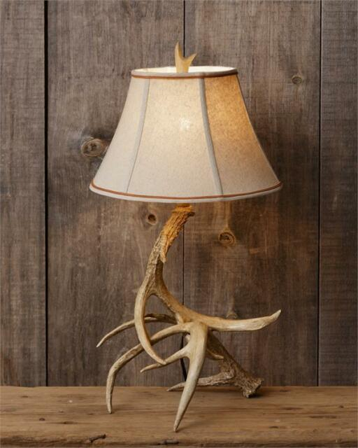 rustic lampshade for table