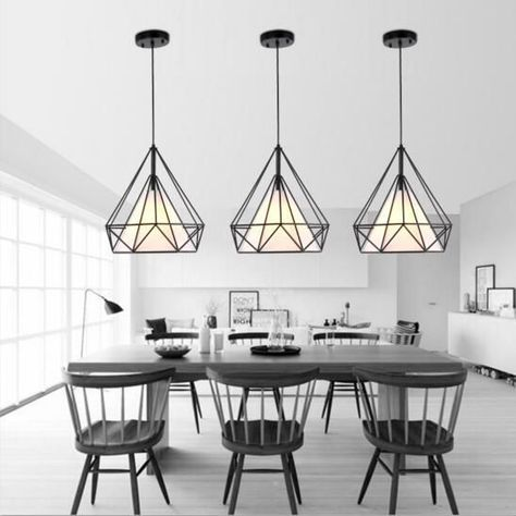 scandinavian birdcage pendant lights