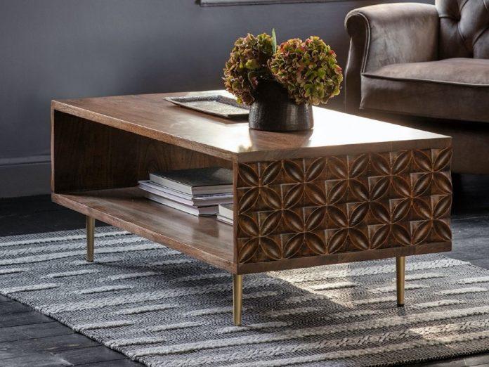 bohemian coffee table