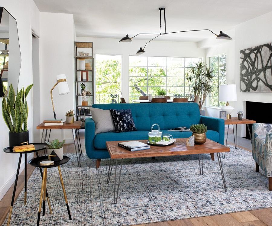 Furniture Ideas for Elegant Mid-Century Modern Living Room ...