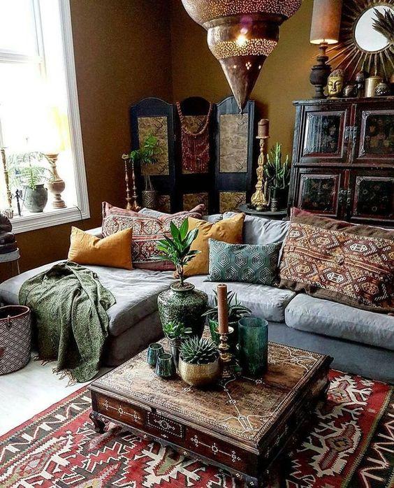 moroccan coffee table