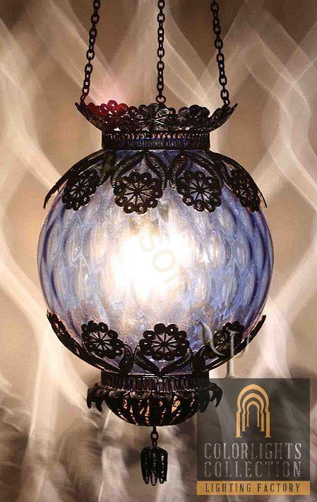 ottoman bohemian hanging lamp