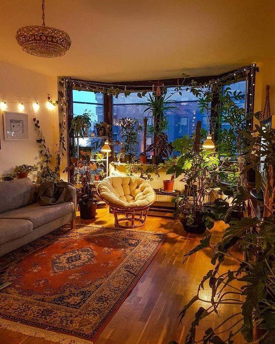 victorian bohemian living room