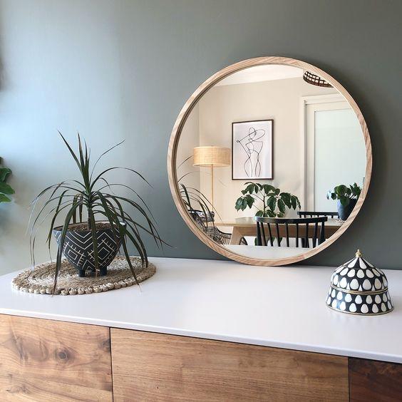 circle mirror