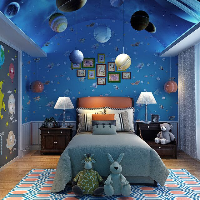 astronomy bedroom