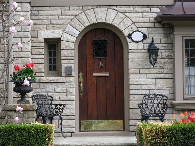 Arch House Door