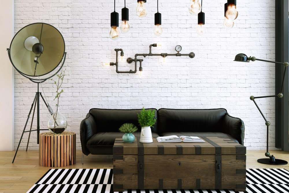 Industrial Style White Color