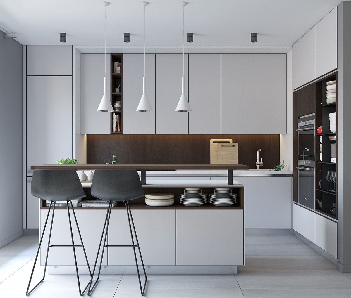 Simple Minimalist Kitchen Design