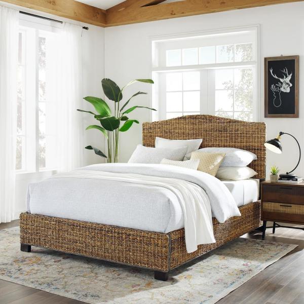 woven bedroom