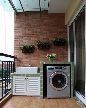 Make A Semi Outdoor Laundry Room