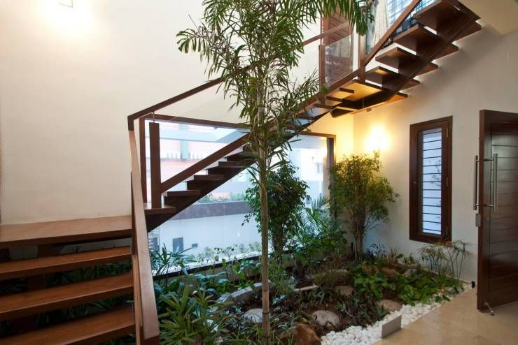 A Mini Garden Under The Stairs