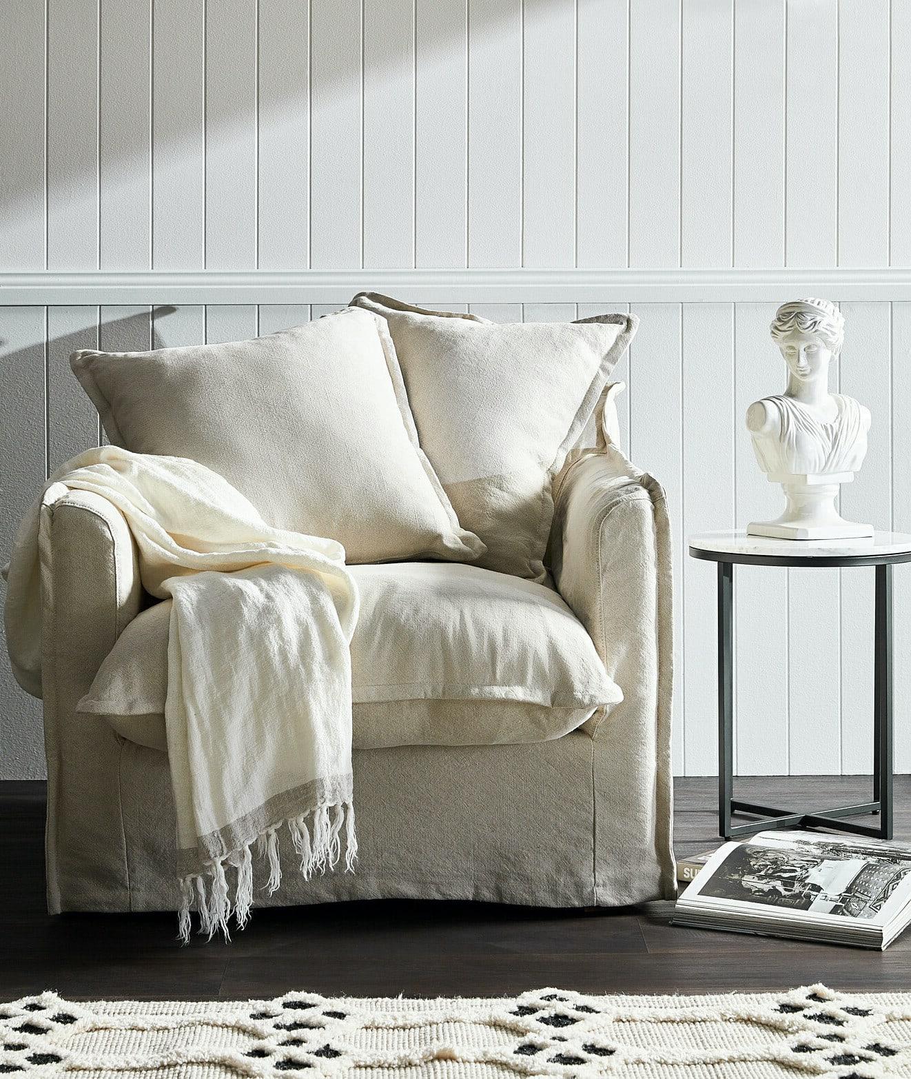 Armchair with Cushion