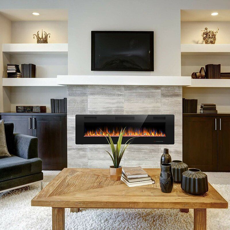 Simple Electric Fireplace (2)