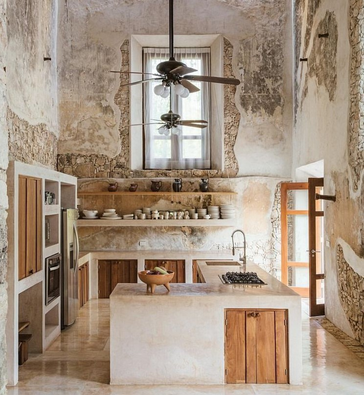 Countryside Grunge Kitchen