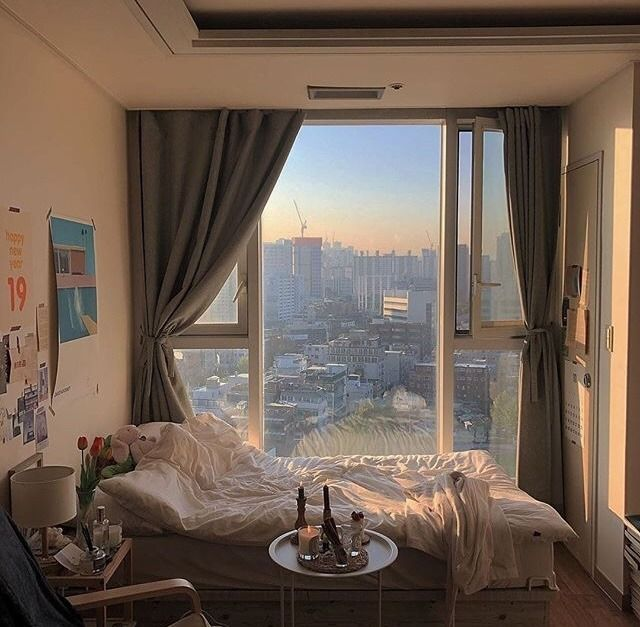 Use a Large Window to See The World Outside